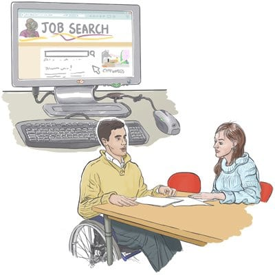 Job searching and Job Coach
