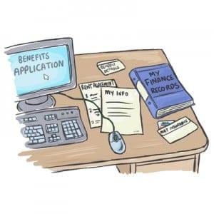 online benefits application