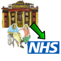 Council refer to NHS