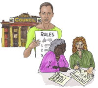 Council rules for direct payment