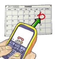 Date call made