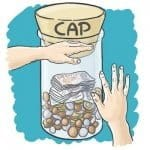 benefits cap blue bg