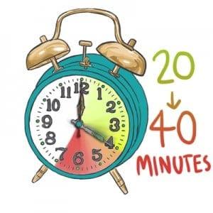 20-40 minutes text sq 400 copy