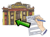 Apply to council