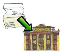 write to council